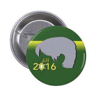 Padrão, 2 gráfico redondo de Jill 2016 do botão da Bóton Redondo 5.08cm