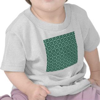 padrão de bolas verdes t-shirts