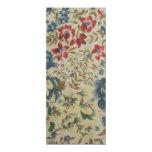 padrão de flores convite 10.16 x 23.49cm