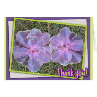 Padrão dos cartões de agradecimentos dos