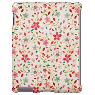 padrão floral capa para iPad