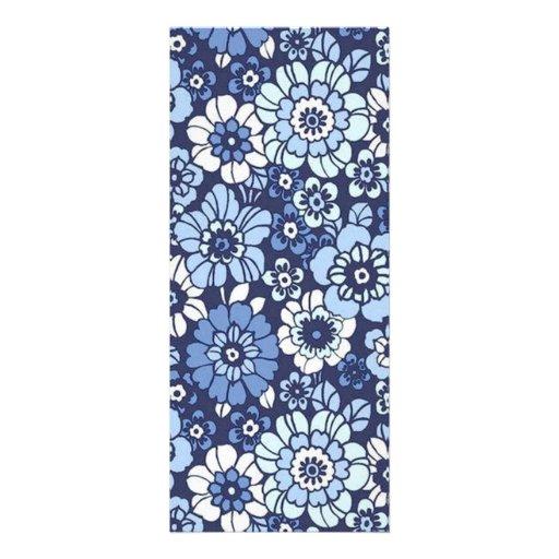 padrão floral convites personalizados