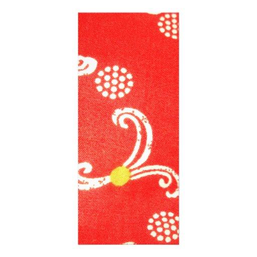 padrão vermelho com bolas brancas convite personalizados