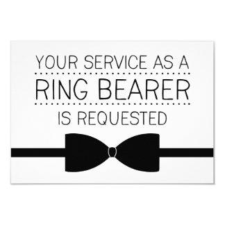 Padrinhos de casamento do pedido | do portador de convite 8.89 x 12.7cm