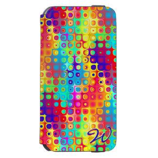 Padrões 7 do abstrato capa carteira incipio watson™ para iPhone 6