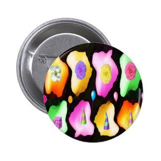Padrões da cor do de alta energia boton
