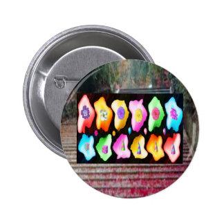 Padrões da cor do de alta energia pins