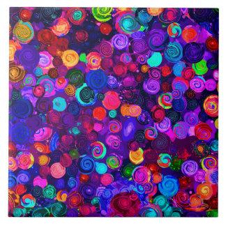 Padrões espirais coloridos bonitos do cosmos
