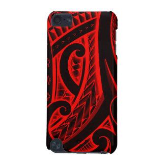Padrões polinésios/maori do design do tatuagem do capa para iPod touch 5G