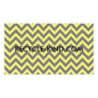 Pagamento Reciclar-Amável ele para a frente cartõe Cartão De Visita