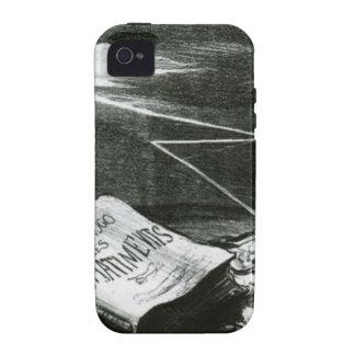 Página da história, punições de Victor Hugo Honore Capas Para iPhone 4/4S