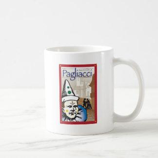 Pagliacci, ópera caneca de café