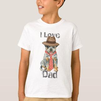 Pai australiano do cão do gado camiseta