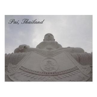 Pai, cartão de Tailândia