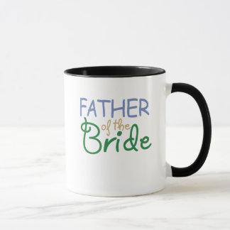 Pai da caneca da noiva