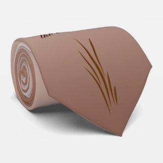 Pai da colheita do outono do laço da noiva gravata