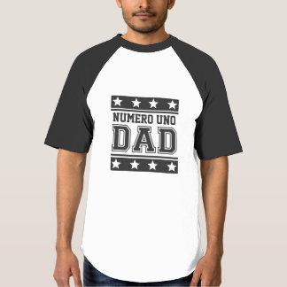 Pai da ONU de Numero Camiseta