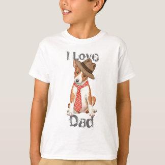 Pai de Basenji Camiseta
