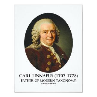 Pai de Carl Linnaeus da taxonomia moderna