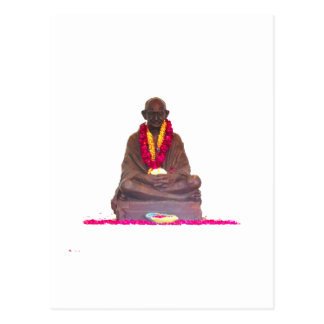 Pai de Mahatma Gandhi da nação India Cartão Postal