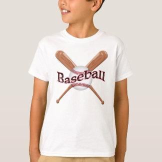 Pai do basebol e camisas de harmonização do filho