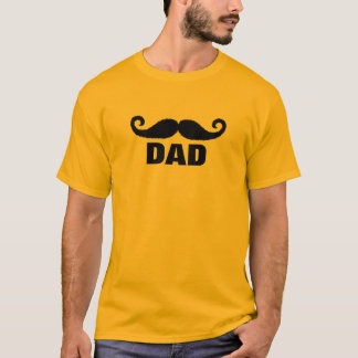 pai do bigode camiseta