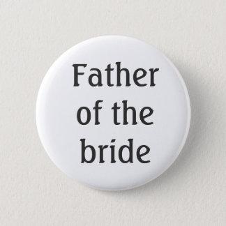 Pai do botão da noiva bóton redondo 5.08cm