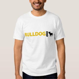 Pai do buldogue francês t-shirt