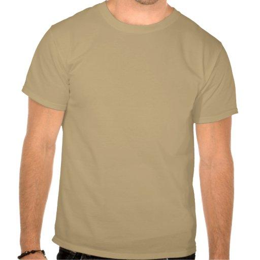 Pai do exército - chamada de resposta camiseta