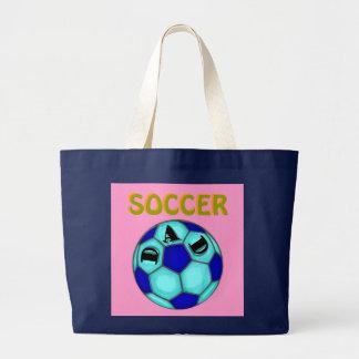 Pai do futebol! Sacola Bolsas