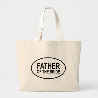 Pai do Oval Wedding da noiva Bolsa Para Compra