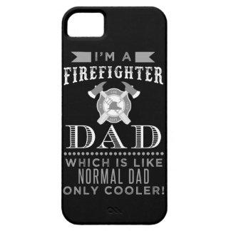 Pai do sapador-bombeiro, caixa legal do telemóvel capa barely there para iPhone 5