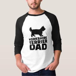 Pai do yorkshire terrier camiseta
