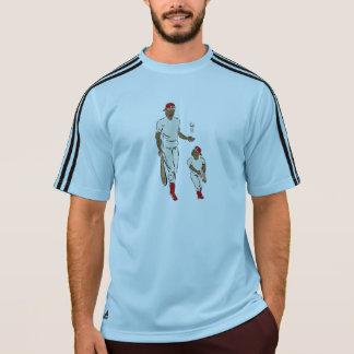 Pai e filho do basebol t-shirts