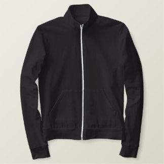 PAI LEGAL MARROM bordado da jaqueta GRANDE