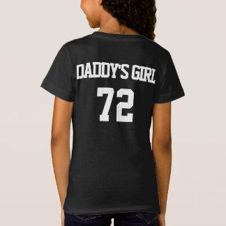 PAI & mim da filha da menina 72 do pai camisa das