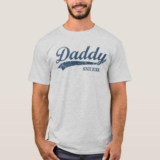 Pai novo do vintage desde o t-shirt [do ano] camiseta