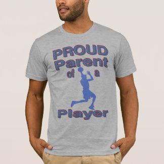 Pai orgulhoso do filho do basquetebol camiseta