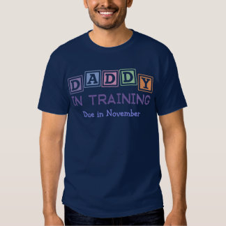 Pai personalizado no treinamento t-shirt