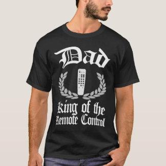Pai - rei do tshirt de controle remoto camiseta
