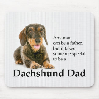 Pai Wirehaired Mousepad do Dachshund