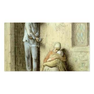 Painço de Jean-Francois o infantil (a criança doen Modelo Cartoes De Visitas