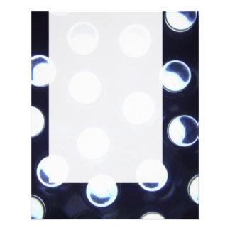 Painel 0115 - Luz do diodo emissor de luz Modelo De Panfleto