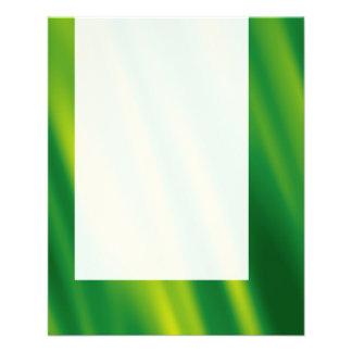 Painel 012 - Queda verde Panfleto Personalizados