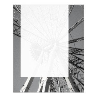 Painel 014 - Roda grande Panfletos Coloridos