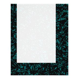 Painel 075 - Linhas abstratas - verde de musgo Panfleto Coloridos