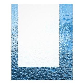 Painel 089 - Água azul Modelos De Panfleto