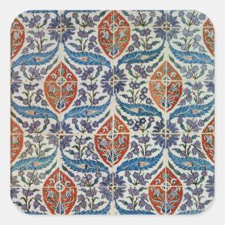 Painel de azulejos do produto de cerâmica de Isnik Adesivo Quadrado
