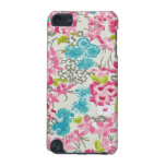 painel de floral augarela capa para iPod touch 5G