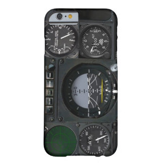 Painel de instrumento dos aviões capa barely there para iPhone 6